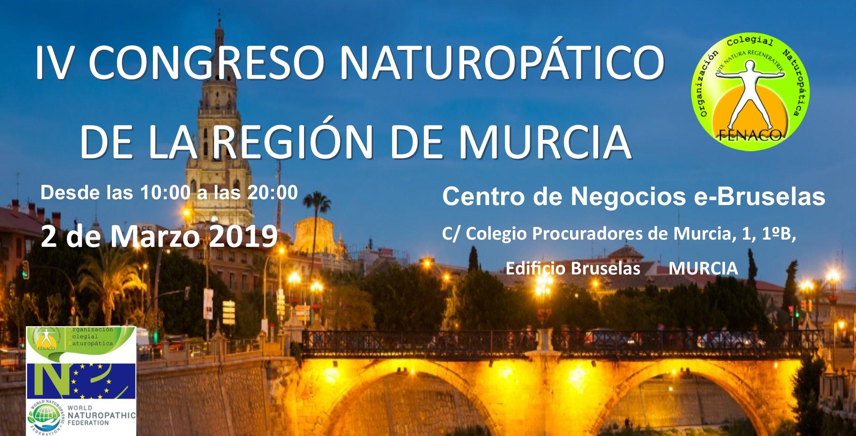 IV  CONGRESO NATUROPATICO REGION  MURCIA